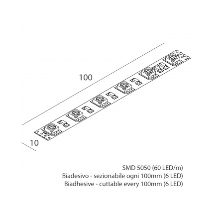 Novalux 102605.99 Striscia led 14,4W/m RGB