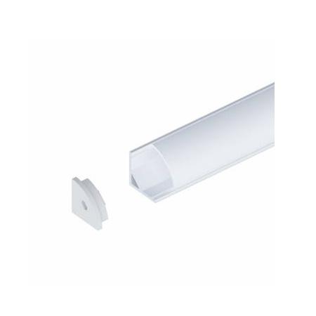 Novalux 105408.96 Profilo angolare per strip LED - Fissaggio a soffitto o parete