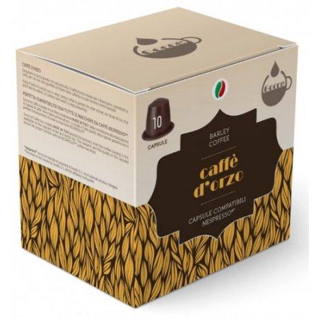 Gocce di Caffè Accessori caffetteria - 10 Capsule Caffè d'Orzo Compatibili Nespresso