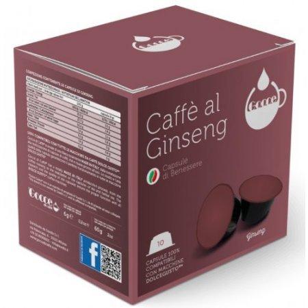 Gocce di Caffè Accessori caffetteria - 10 Capsule Caffè Ginseng Compatibili Nescafè Dolce Gusto