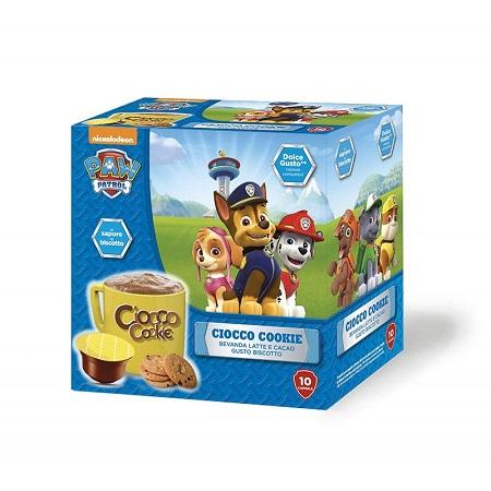 BOX 10 CAP.COMP.DG PAW PATROL,CIOCCO 10 Capsule ( MUST ) Dolce Gusto