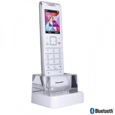 MOTOROLA Telefono Cordless dall'elegante design - IT.6.1 BIANCO CROMATO