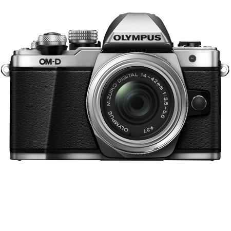 Olympus - OM-D EM10 Mark II Silver  + 14-42 mm II R