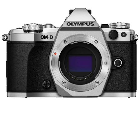 Olympus Sensore Live MOS 4/3'' da 16 Mpx - OM-D EM10 Mark II Silver  + 14-42 mm II R