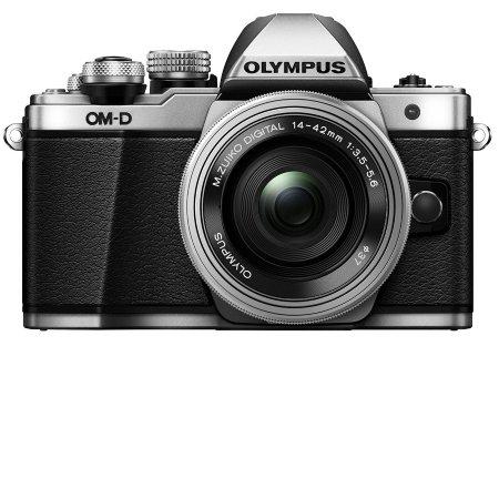 Olympus - OM-D EM10 Mark II Silver + 14-42 mm EZ