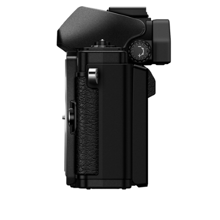 Olympus Sensore Live MOS 4/3'' da 16 Mpx - OM-D EM10 Mark II Black + 14-42 mm EZ