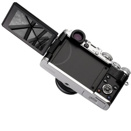 Olympus Sensore Live MOS 4/3'' da 21 Mpx - Pen F Silver +17 mm