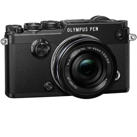 Olympus Sensore Live MOS 4/3'' da 21 Mpx - Pen F Nera + 17mm