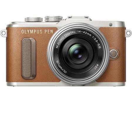 Olympus - PEN E-PL8 Brown +14-42mm EZ