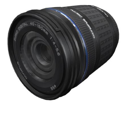 Olympus M.Zuiko Obiettivo Tele-Zoom da 40-150mm, F4.5/5.6 - Zoom 40-150 mm Nero + Borsa V315030BE020