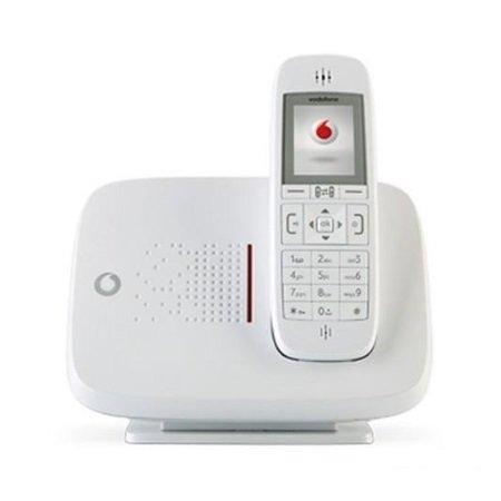Vodafone Telefono cordless Vodafone con SIM GSM - Gsm Dect 2g Bianco