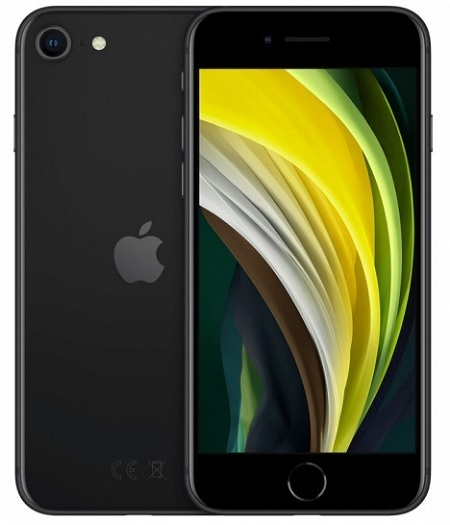 Vodafone - Iphone Se 2020 128 Black Mxd02ql/a