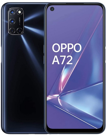 Oppo A72 Nero - Vodafone