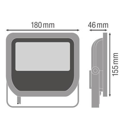 Ledvance Proiettore a LED 50W - Flood50840bg2