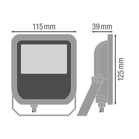 Ledvance Proiettore a LED 10W - Flood10830wg2