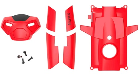 5 COVERS ROSSE + ELICHE Parrot PF070086AA.