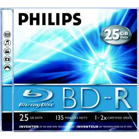 Philips Blu ray -r - Br2s2j01fpack5