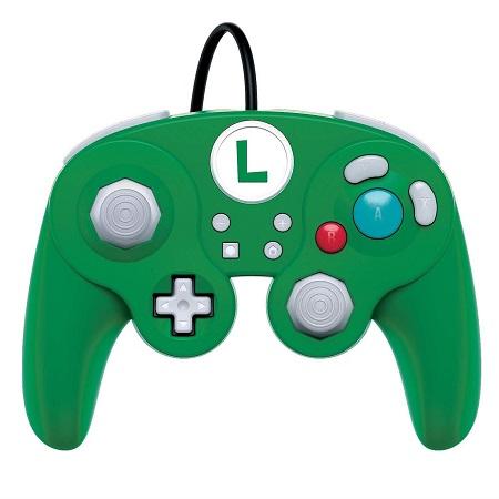 PDP WIRED SMASH PAD PRO LUIGI SWITCH Tipo di dispositivo: Gamepad