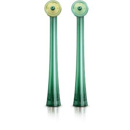 Philips - Confezione di 2 cannule AirFloss - Hx8012