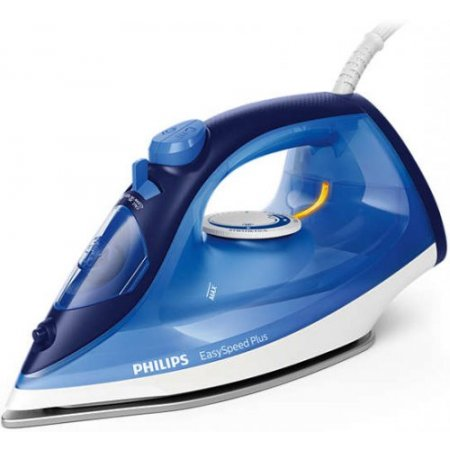 Philips Ferro a vapore 2100 w - Easy Speed Plus Gc2145/24 Blu