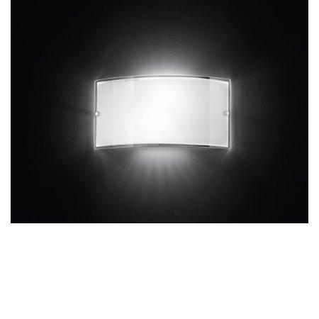 Perenz - Lampada da Parete In Vetro Bianco
