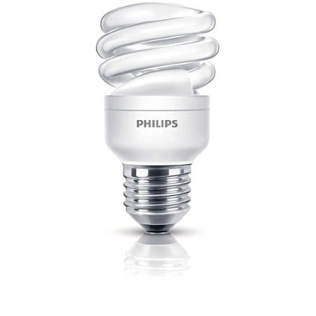 Philips Lighting Lampadina Economy Twister - Economy Twister 8w Ww E27 1pf/6