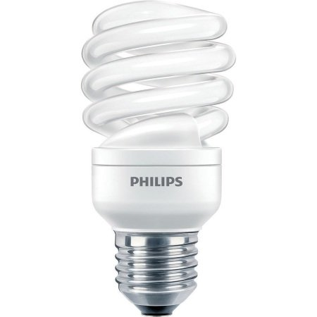 Philips Lighting Lampadina Economy Twister - Economy Twister 15w Cdl E27 1pf/6