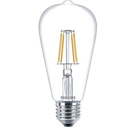 Philips Lighting Lampadina Classic Ledbulb - Led Filament 40w E27 Ww St64 Cl Nd