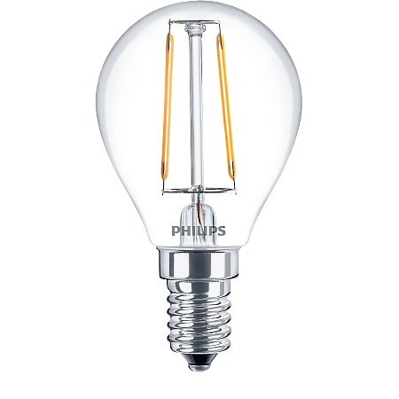 Philips Lighting - Led Filament 25w E14 Ww P45 Cl Nd