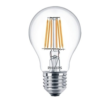 Philips Lighting - Led Filament 60w E27 Ww A60 Cl Nd