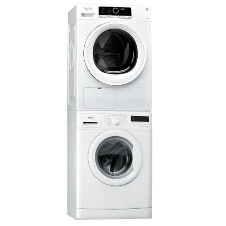 Whirlpool - Lavatrice DLC 8012 + Asciugatrice HSCX 70310