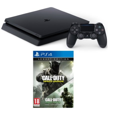 SONY - PS4 Slim 500 Gb + Call of Duty Legacy edition