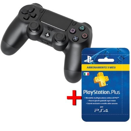 Sony Dualshock 4 versione 2   per PS4 - 2° Dualshock +PS Network Card 90 gg