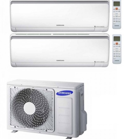 Samsung - Kit DUAL U.E. AJ040NCJ2EG/EU + U.I. AR09RXFPEWQNEU / AR12RXFPEWQNEU