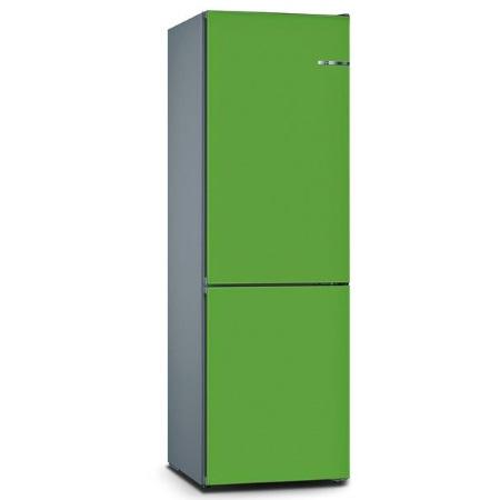 Bosch Frigorifero combinato - Vario Style Kgn39ij3a +Pannello Mint Green