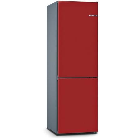 Bosch Frigorifero combinato - Vario Style Kgn39ij3a +Pannello Cherry Red