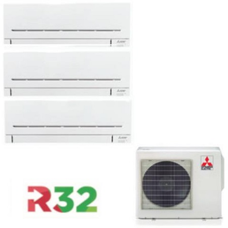 MITSUBISHI Kit U.E MXZ-3F54VF + U.I (X3) MSZ-AP25VGK