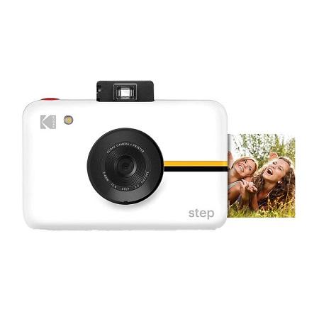 Kodak Step Bianca Fotocamera instantanea