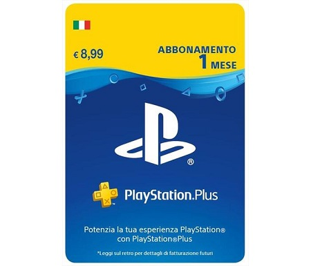 Playstation Plus 1 Mese Abbonamento PlayStation Plus 1 mese Subscription