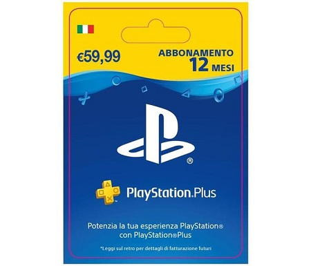 PlayStation Plus da 365 giorni