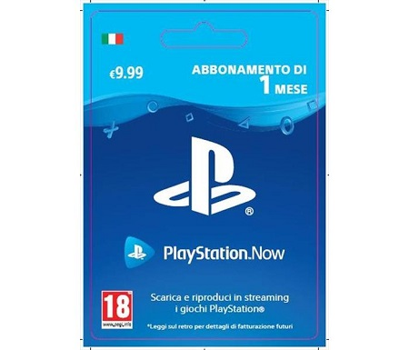Playstation Now: 1 Mese Abbonamento PlayStation Now: 1 Month Subscription