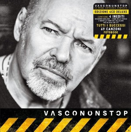 Universal Genere: Rock pop - Vasco Rossi / Vascononstop (4CD SHELBOX + FOTOBOOKLET 50PG)