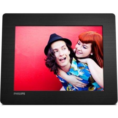 Philips Cornice digitale - Spf4608/12 Nero