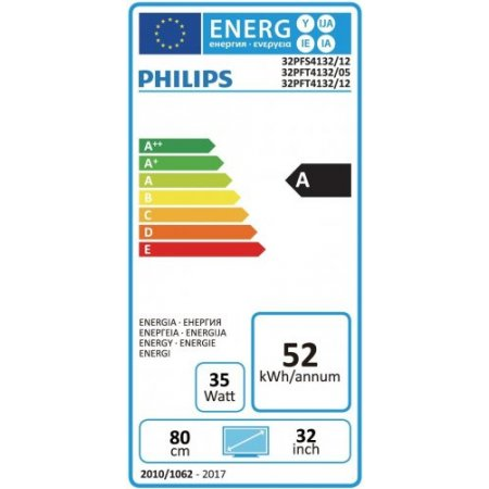"Philips Tv led 32"" full hd - 32pfs4132"