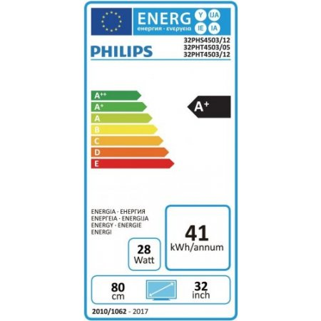 "Philips Tv led 32"" hd - 32phs4503"