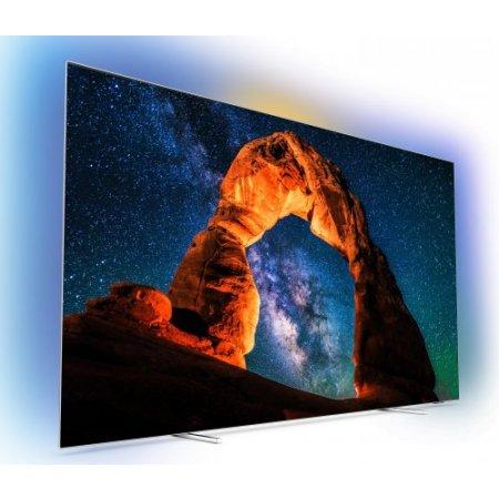 Philips Tipo: TV OLED 4K UHD ultrasottile con dimensioni dello schermo di 139 cm (55 pollici) - 55oled803/12