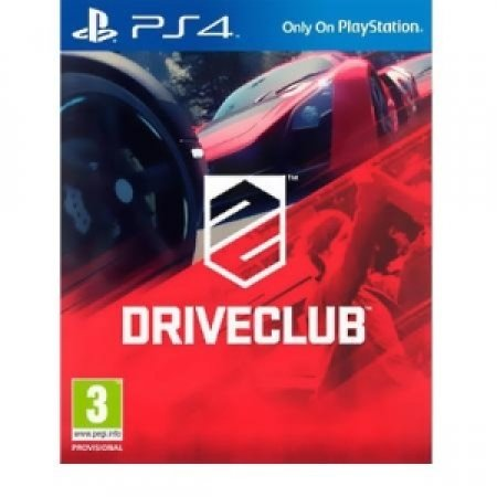 SONY Genere: Racing - DRIVECLUB PS4