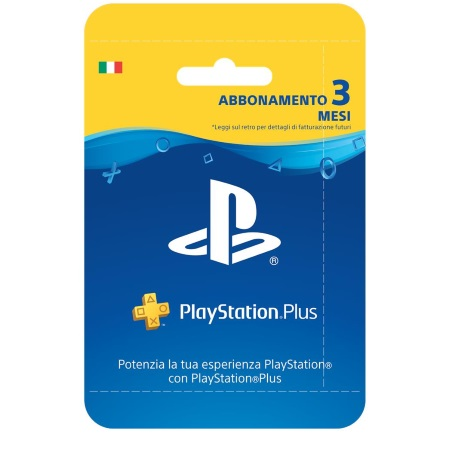 Sony Abbonamento Playstation Plus di 3 mesi - Psn Card + 90 gg