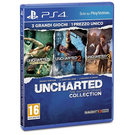 Sony - Uncharted: The Nathan Drake Collection