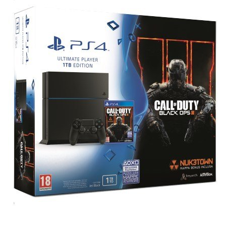 Sony - PS4 1TB +Call Of Duty Black Ops 3